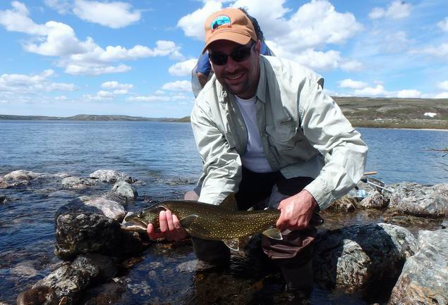 Great opening of the trout fishing season on the tunulic for Trout fishing season