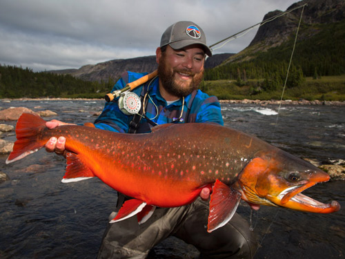 Fishing report from one of our char fishermen rapid lake for Arctic char fish