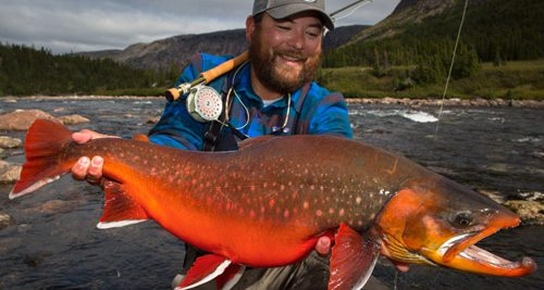 UNGAVA BIG RED CHAR FISHING – Rapid Lake